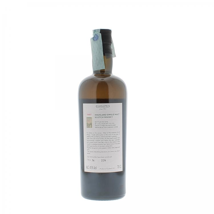 Samaroli Clynelish Distillery Highland Single Malt Scotch Whisky 1997